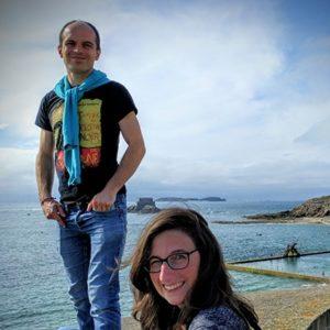 Caroline Gaudreau et Gaël Deest