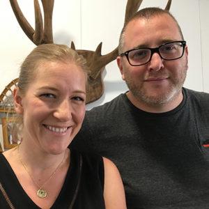 Cédric Bezaud & Patricia Saumet