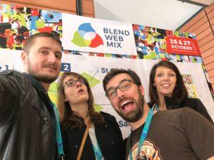Viens rencontrer l'équipe NewQuest lors de BlendWebMix
