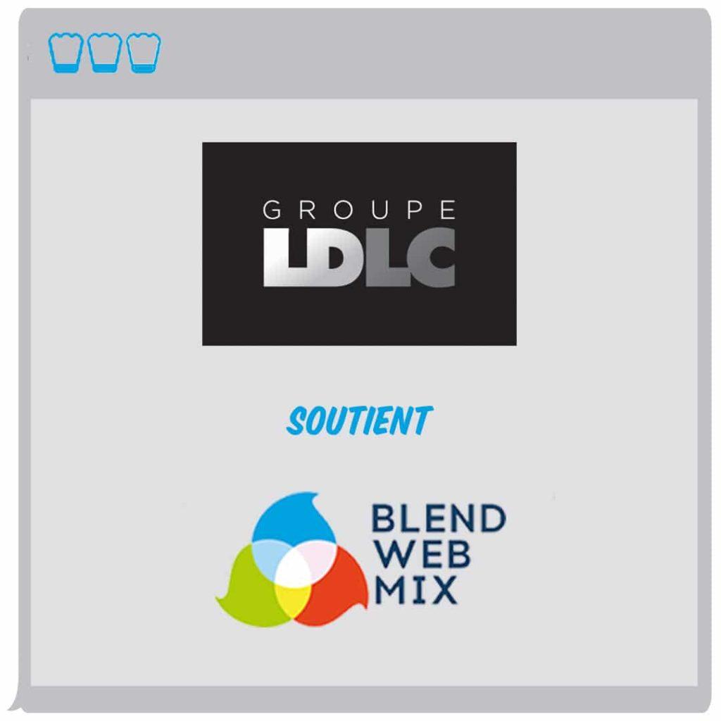 LDLC : un groupe bien présent…à BlendWebMix !
