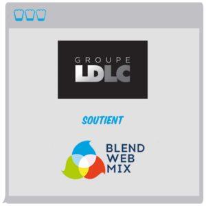 LDLC : un groupe bien présent...à BlendWebMix !