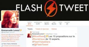 #FlashTweet ou l'expertise social media à BlendWebMix !